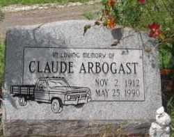 ARBOGAST, CLAUDE - Holmes County, Ohio   CLAUDE ARBOGAST - Ohio Gravestone Photos
