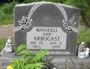 "ARBOGAST, MAVADELL ""JERRI"" - Holmes County, Ohio | MAVADELL ""JERRI"" ARBOGAST - Ohio Gravestone Photos"