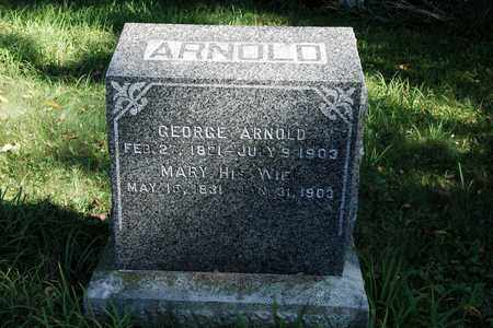 ARNOLD, MARY - Holmes County, Ohio | MARY ARNOLD - Ohio Gravestone Photos