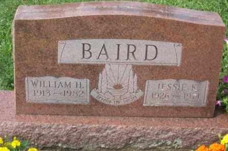 BAIRD, JESSIE K. - Holmes County, Ohio | JESSIE K. BAIRD - Ohio Gravestone Photos