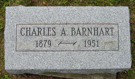 BARNHART, CHARLES A. - Holmes County, Ohio   CHARLES A. BARNHART - Ohio Gravestone Photos