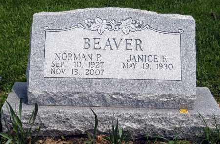 BEAVER, JANICE E. - Holmes County, Ohio | JANICE E. BEAVER - Ohio Gravestone Photos