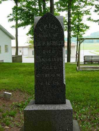 BEIDLER, EMILY - Holmes County, Ohio   EMILY BEIDLER - Ohio Gravestone Photos