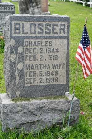 SOMMERS BLOSSER, MARTHA - Holmes County, Ohio | MARTHA SOMMERS BLOSSER - Ohio Gravestone Photos