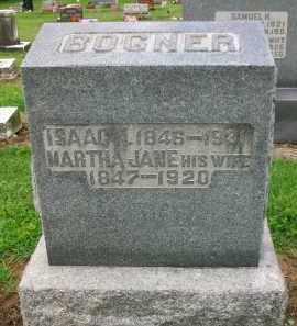 BOGNER, ISAAC N. - Holmes County, Ohio | ISAAC N. BOGNER - Ohio Gravestone Photos