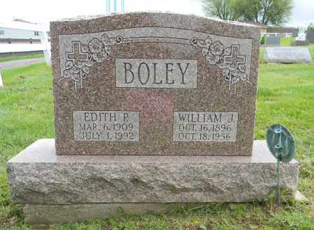 BOLEY, EDITH P - Holmes County, Ohio | EDITH P BOLEY - Ohio Gravestone Photos