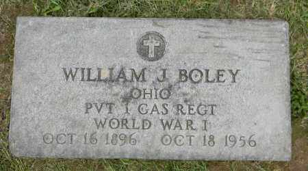 BOLEY, WILLIAM J. - Holmes County, Ohio | WILLIAM J. BOLEY - Ohio Gravestone Photos