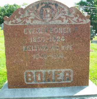 BONER, EVERLY - Holmes County, Ohio | EVERLY BONER - Ohio Gravestone Photos