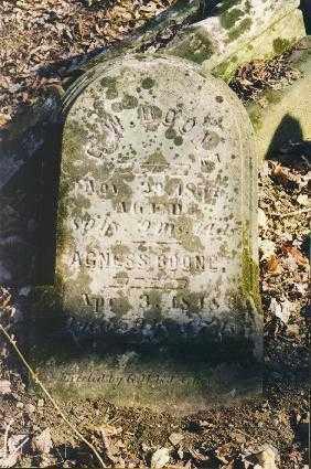 BOONE, AGNESS - Holmes County, Ohio | AGNESS BOONE - Ohio Gravestone Photos