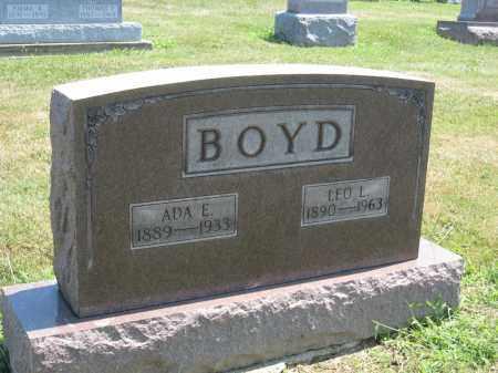 BOYD, LEO L. - Holmes County, Ohio | LEO L. BOYD - Ohio Gravestone Photos