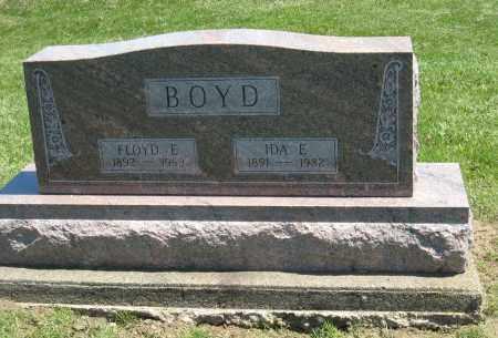 BOYD, FLOYD E - Holmes County, Ohio | FLOYD E BOYD - Ohio Gravestone Photos