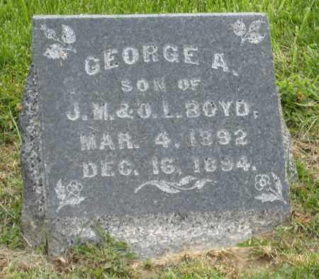 BOYD, GEORGE A - Holmes County, Ohio   GEORGE A BOYD - Ohio Gravestone Photos