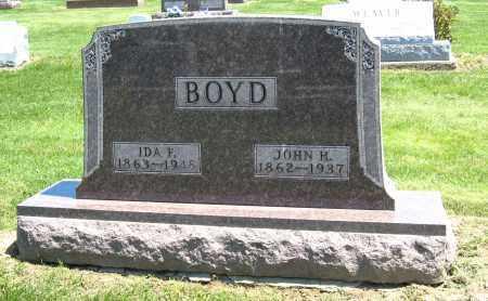 BOYD, IDA F. - Holmes County, Ohio | IDA F. BOYD - Ohio Gravestone Photos