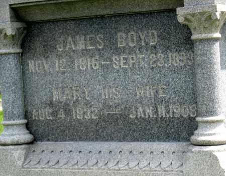 BOYD, MARY - Holmes County, Ohio | MARY BOYD - Ohio Gravestone Photos