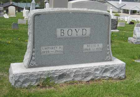 BOYD, BELLE S - Holmes County, Ohio | BELLE S BOYD - Ohio Gravestone Photos
