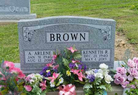 BROWN, A. ARLENE - Holmes County, Ohio | A. ARLENE BROWN - Ohio Gravestone Photos