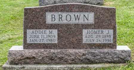 BROWN, ADDIE M. - Holmes County, Ohio | ADDIE M. BROWN - Ohio Gravestone Photos