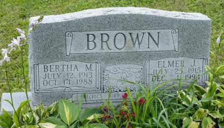 TRACHSEL BROWN, BERTHA M. - Holmes County, Ohio | BERTHA M. TRACHSEL BROWN - Ohio Gravestone Photos