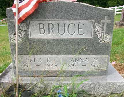 BRUCE, ANNIE M - Holmes County, Ohio   ANNIE M BRUCE - Ohio Gravestone Photos