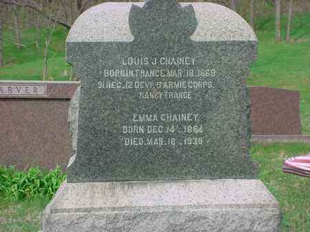 CHAINEY, EMMA DORA - Holmes County, Ohio | EMMA DORA CHAINEY - Ohio Gravestone Photos