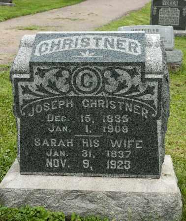GERBER CHRISTNER, SARAH - Holmes County, Ohio | SARAH GERBER CHRISTNER - Ohio Gravestone Photos