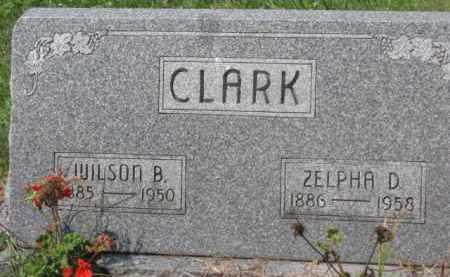 CLARK, WILSON B. - Holmes County, Ohio | WILSON B. CLARK - Ohio Gravestone Photos