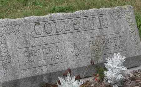 COLLETTE, FLORENCE F. - Holmes County, Ohio | FLORENCE F. COLLETTE - Ohio Gravestone Photos