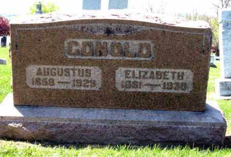 CONOLD, ELIZABETH - Holmes County, Ohio | ELIZABETH CONOLD - Ohio Gravestone Photos