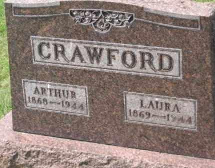 CRAWFORD, LAURA - Holmes County, Ohio | LAURA CRAWFORD - Ohio Gravestone Photos