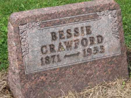 CRAWFORD, BESSIE - Holmes County, Ohio   BESSIE CRAWFORD - Ohio Gravestone Photos