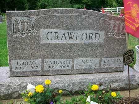CRAWFORD, LA VERN - Holmes County, Ohio | LA VERN CRAWFORD - Ohio Gravestone Photos