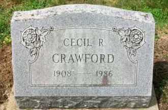 CRAWFORD, CECIL R. - Holmes County, Ohio   CECIL R. CRAWFORD - Ohio Gravestone Photos