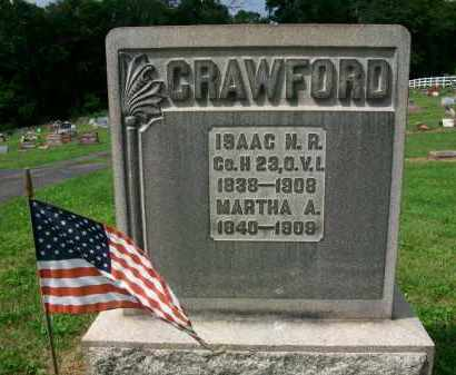 CRAWFORD, MARTHA A. - Holmes County, Ohio | MARTHA A. CRAWFORD - Ohio Gravestone Photos