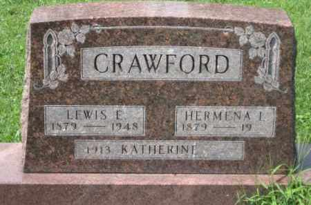 BUCK CRAWFORD, HERMINA L. - Holmes County, Ohio | HERMINA L. BUCK CRAWFORD - Ohio Gravestone Photos