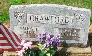 AMUNDSON CRAWFORD, NORA E. - Holmes County, Ohio | NORA E. AMUNDSON CRAWFORD - Ohio Gravestone Photos