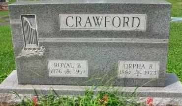 CRAWFORD, ORPHA R. - Holmes County, Ohio | ORPHA R. CRAWFORD - Ohio Gravestone Photos