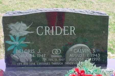 CRIDER, DELORIS J - Holmes County, Ohio | DELORIS J CRIDER - Ohio Gravestone Photos