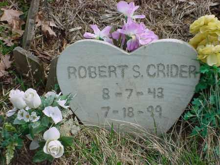 CRIDER, ROBERT S. - Holmes County, Ohio | ROBERT S. CRIDER - Ohio Gravestone Photos