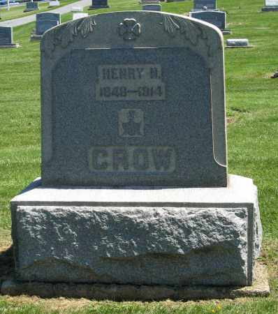 CROW, HENRY N - Holmes County, Ohio | HENRY N CROW - Ohio Gravestone Photos