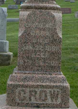 CROW, LAWRENCE - Holmes County, Ohio   LAWRENCE CROW - Ohio Gravestone Photos