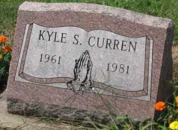 CURREN, KYLE S. - Holmes County, Ohio | KYLE S. CURREN - Ohio Gravestone Photos