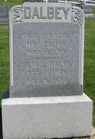 DALBEY, JOHN P. - Holmes County, Ohio | JOHN P. DALBEY - Ohio Gravestone Photos