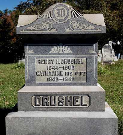 DRUSHEL, HENRY H. - Holmes County, Ohio   HENRY H. DRUSHEL - Ohio Gravestone Photos