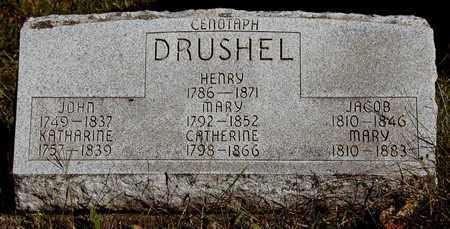 DRUSHEL, CATHERINE - Holmes County, Ohio | CATHERINE DRUSHEL - Ohio Gravestone Photos