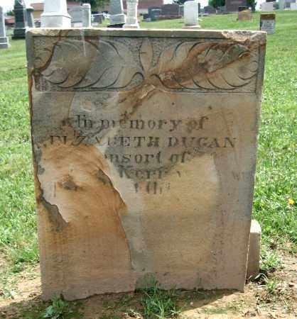 DUGAN, ELIZABETH - Holmes County, Ohio   ELIZABETH DUGAN - Ohio Gravestone Photos