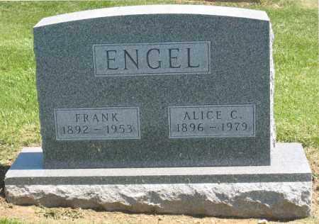 ENGEL, ALICE C. - Holmes County, Ohio | ALICE C. ENGEL - Ohio Gravestone Photos