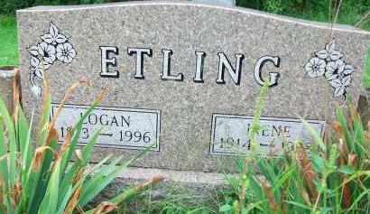 ETLING, IRENE - Holmes County, Ohio | IRENE ETLING - Ohio Gravestone Photos