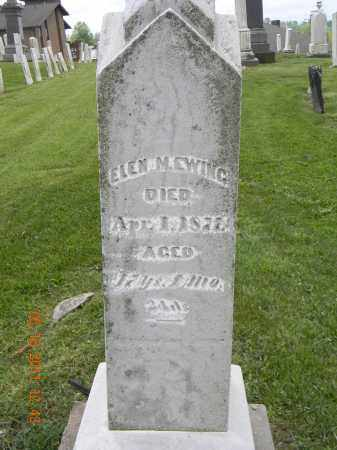 EWING, ELEN M - Holmes County, Ohio | ELEN M EWING - Ohio Gravestone Photos