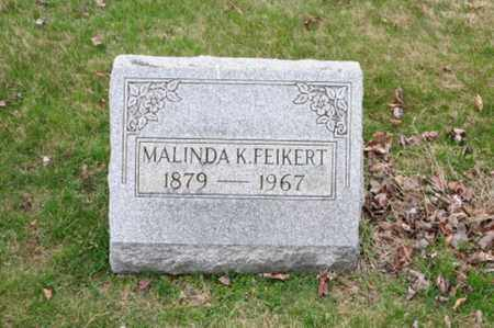 FEIKERT, MALINDA K. - Holmes County, Ohio   MALINDA K. FEIKERT - Ohio Gravestone Photos