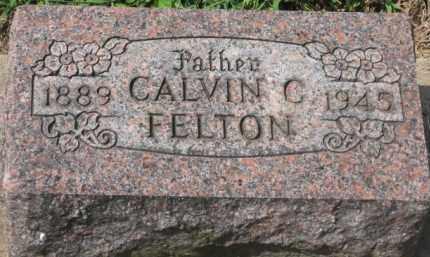 FELTON, CALVIN C. - Holmes County, Ohio | CALVIN C. FELTON - Ohio Gravestone Photos